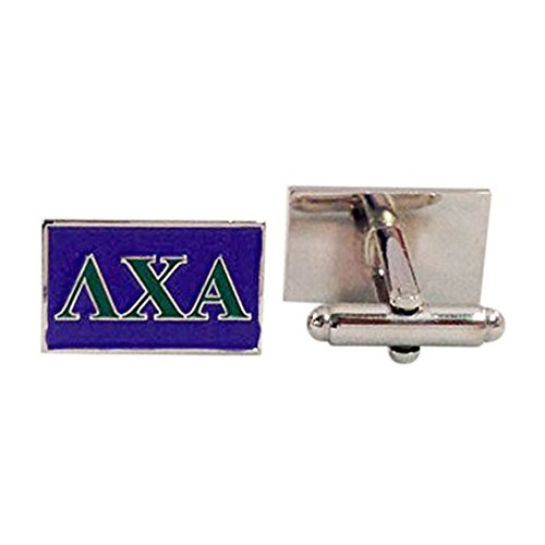 (Lambda Chi Alpha Fraternity Letter Cufflinks Greek Formal Wear)