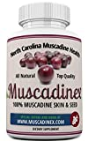 Muscadinex Grape Resveratrol Longevity Supplement – 60x 650Mg Vegetarian Capsules. Made in the USA. Best Seller Muscadine Resveratrol and Ellagic Acid. America's Strongest Grape for Polyphenols. For Sale