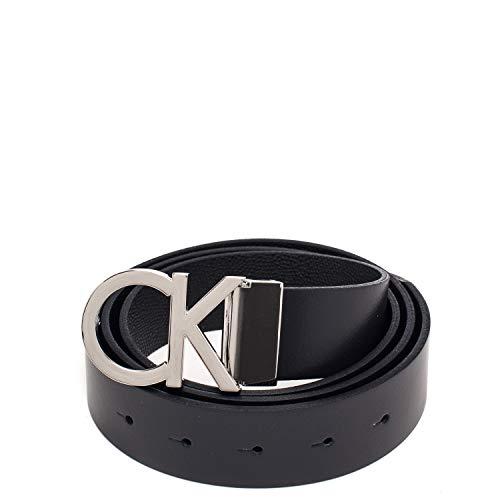 Confezione Calvin Cintura Klein K50k504491 Due Fibbie HAqTB