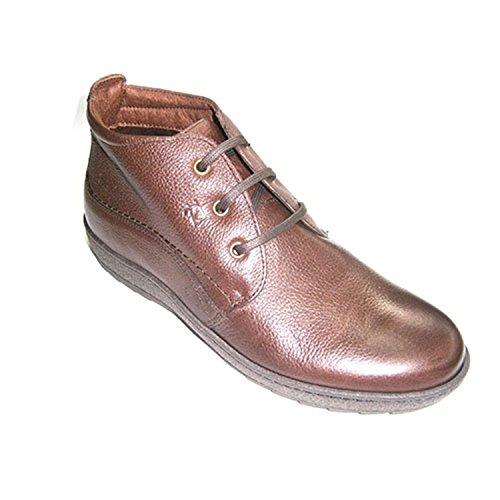 PITILLOS Man Spitze Stiefel mit Gummisohlen Braun Braun