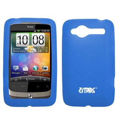 EMPIRE Blau Silicone Skin Cover Case Tasche Hülle for Alltel HTC Wildfire CDMA
