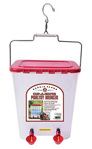 Harris Farms Cup-A-Water Poultry Drinker, 4 gallon by Harris Farms (Image #1)