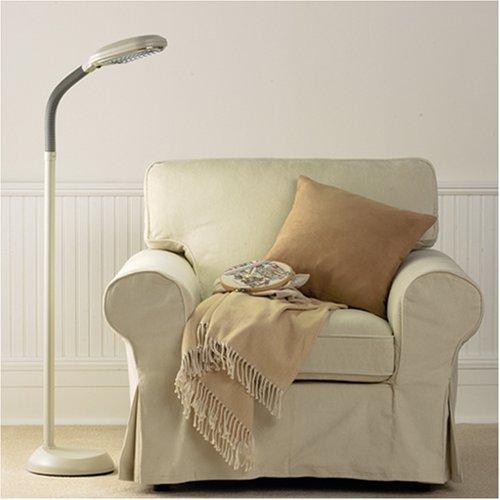 Amazon com verilux original natural spectrum deluxe floor lamp ivory health personal care