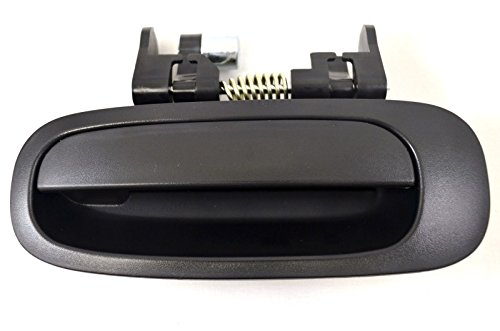 PT Auto Warehouse TO-3199A-RL - Outside Exterior Outer Door Handle, Textured Black - Driver Side Rear