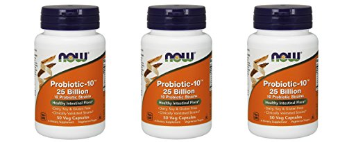NOW Probiotic-10 25 Billion 150 by NOW Foods