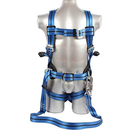 MUTANG Cinturón de seguridad para trabajo aéreo Protección contra caídas Cinturón de seguridad para electricistas Cuerpo...