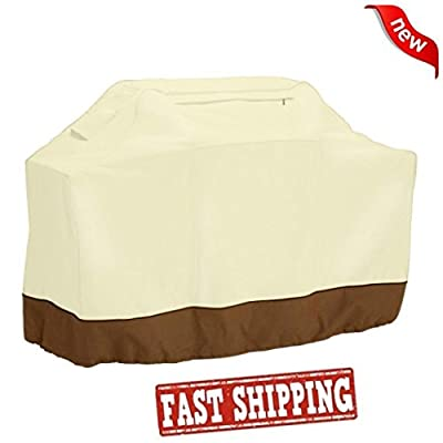 Home Grill Cover,Efaster(tm) BBQ Grill Cover 58 Gas Barbecue Heavy Duty Waterproof Outdoor Weber Beige Patio