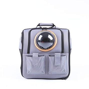 5cd6ba966e MOIMK La Capsule Sac de Transport pour Animaux Chat Respirant en Plein air  Portable Sac d