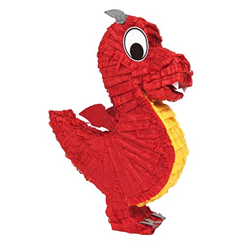 Aztec Imports Dragon Pinata (Colors may vary) -