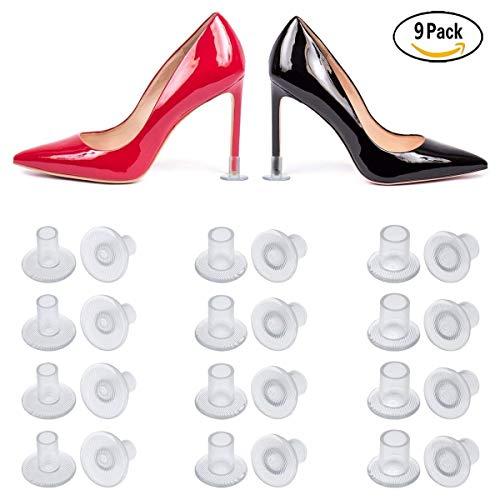 m nbsp;taglie 3 lzy1560 nbsp; 9 per Small da nbsp;paio Large donna tappi tacchi Medium scarpe wxU8xH4q
