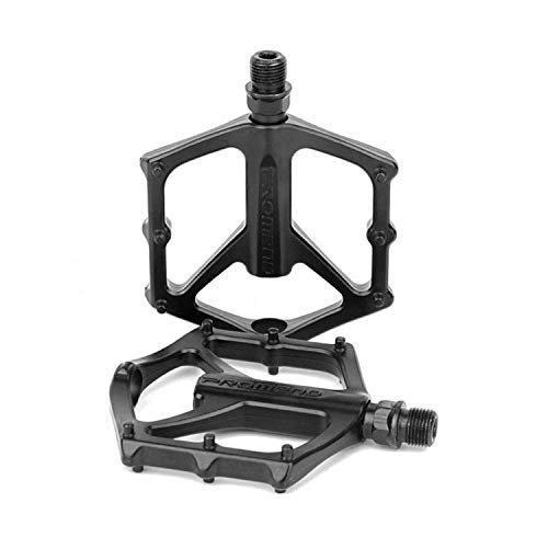 Aluminium Alloy Grip Durable 9//16 Mountain Bike Bicycle MTB BMX Flat Pedals