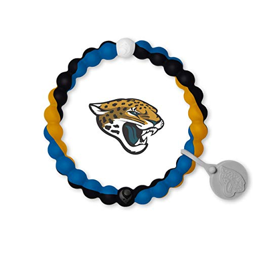Lokai NFL Collection Bracelet, Jacksonville Jaguars, Size Medium (6.5
