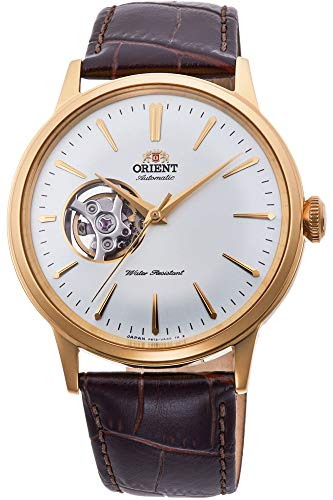 Orient Mens Analogue Automatic Watch with Leather Strap ()