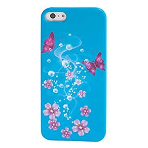 Buy Butterfly Dream Coloured Drawing Pattern Hard Case for iPhone5/5S(Assorted Colors)
