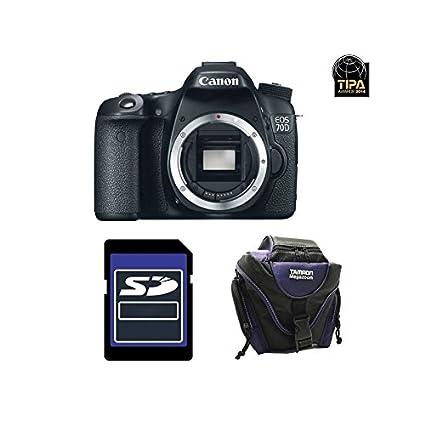 Canon EOS 70D + SD 4GB Cuerpo de la cámara SLR 20,2 MP CMOS 5472 x ...