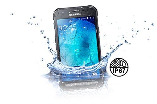 bolsa del cinturón / funda para Samsung Galaxy XCover 3, negro + Auriculares   caja del teléfono cubierta protectora bolso - K-S-Trade (TM)