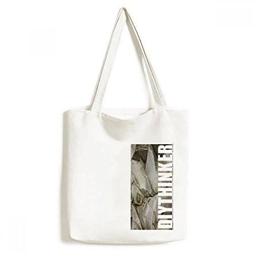 DIYthinker Fancy Stone Color Texture Crackles Tote Canvas Bag Shopping Handbag Craft Washable (Footwear Crackle)