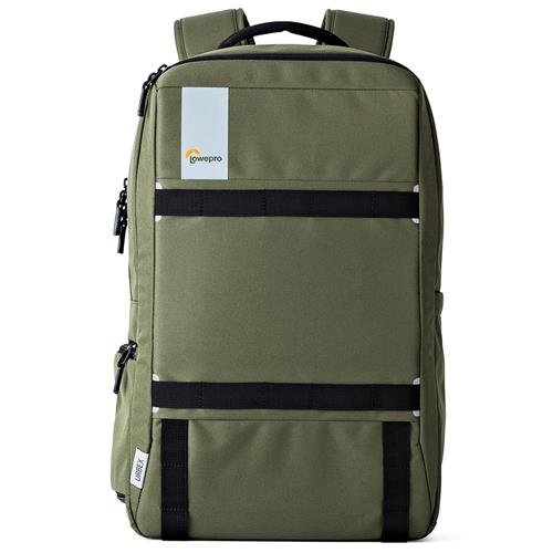Lowepro Urbex BP 20L Backpack for Up to 15'' Laptop and 10'' Tablet, Dark Green