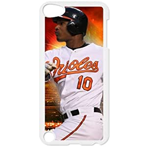 MLB IPod Touch 5 White Baltimore Orioles cell phone cases&Gift Holiday&Christmas Gifts NADL7B8826153