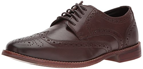 Rockport Mens Stile Punta Dala Punta Oxford Marrone Scuro