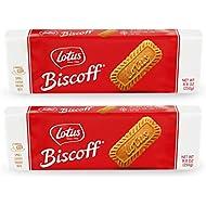 Lotus Biscoff - European Biscuit Cookies - 8.8 Ounce (2 Count) - non GMO + Vegan