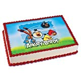 Angry Birds Edible Image Cake Topper