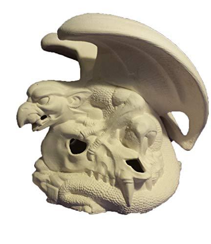 Gargoyle and Skull Smoker 7