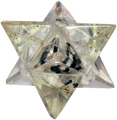 Merkaba Crystal Geometry Sacred Star White Moon Stone Stone Spiritual Reiki