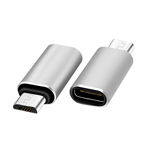 Alloy Type-C Male TO Female Micro USB Adapter Converter Connector - 2