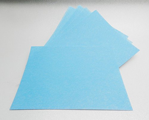 3M Tri-Mite Wet or Dry 1200 Grit 9 Micron Blue Polishing Paper Pack of 50 Sheets (11E) by NOVELTOOLS (Image #1)