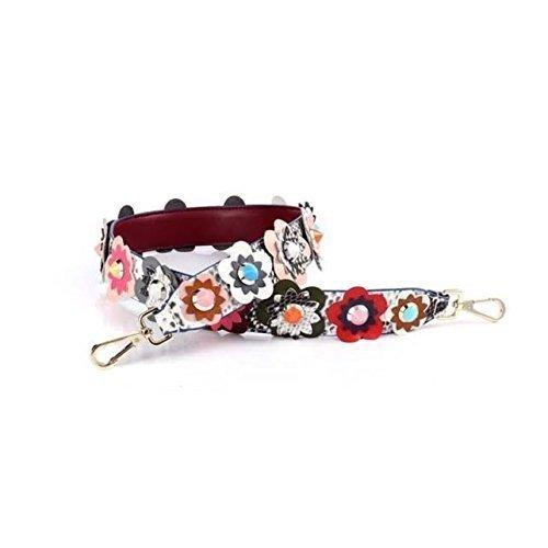 e4ae5d8e8a6c Amazon.com  Snakeskin Multicolor Flower Strap