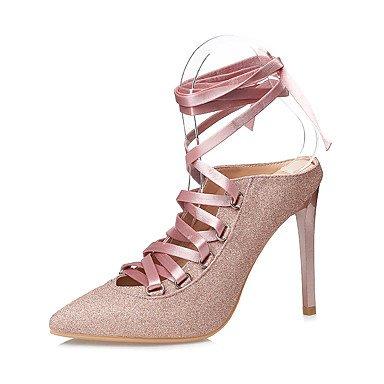 Pelle YCMDM Donne Sandali Primavera Estate Comfort Vestito tacco a spillo , khaki , us7.5 / eu38 / uk5.5 / cn38