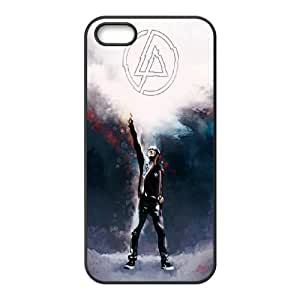 Linkin Park Black and White Logo case For Apple Iphone 5 5S Cases GHLR-T406133