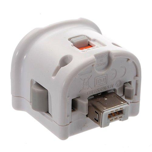 Motion Plus MotionPlus Controller Adapter Sensor für NINTENDO Wii Remote Weiß