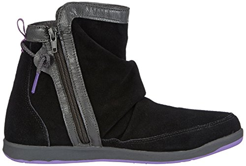 Kappa JAM 241503 Damen Fashion Halbstiefel & Stiefeletten Mehrfarbig (1123 BLACK/LILA)