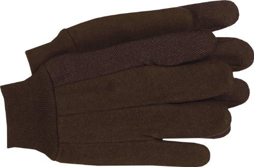 Boss Gloves 4024 Large Unlined Plastic Dot Gloves