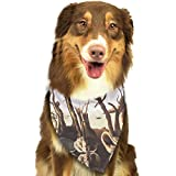 Pet Scarf Dog Bandana Bibs Triangle Head Scarfs Deadwood Accessories for Cats Baby Puppy