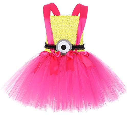 Despicable Me Costume for Girls Dave Minion Costumes Size 3-4 -