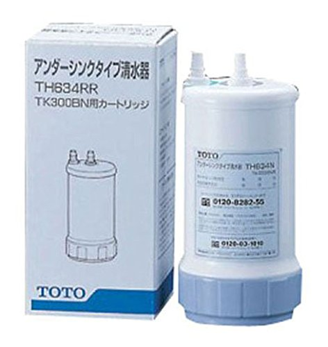 TOTO 浄水器(ビルトイン型) 用カートリッジ (交換の目安:約1年) TH634RR