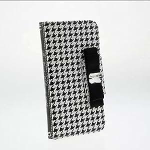 GDW Teléfono Móvil Samsung - Carcasas de Cuerpo Completo - Gráfico/Diseño Especial - para Samsung Samsung Galaxy S6 Cuero PU )