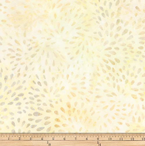 (Robert Kaufman Elementals Petals Batik Petals Fabric, Honey, Fabric By The Yard)