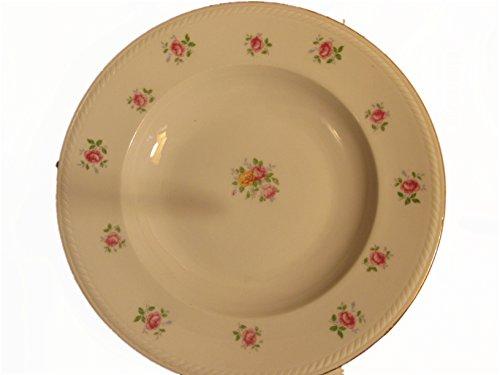Winterling Bavaria Germany 28 Rose Patterned Gold Trimmed Soup Bowls/set of 6 - Bavaria Soup