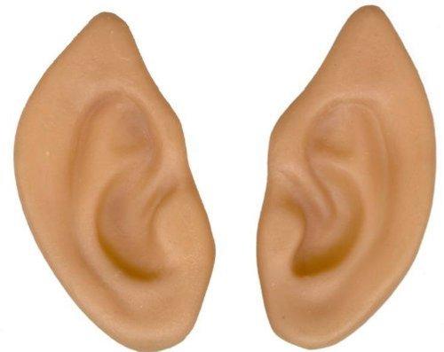 (Forum Novelties Latex Pointed Elf Fairy Alien Hobbit Ears Cosplay LARP Prosthetic Beige)