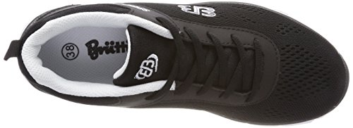 Bruetting Unisex Adults' Cosmos Low-Top Sneakers Black (Schwarz/Weiss Schwarz/Weiss) purchase cheap online eCsTWW