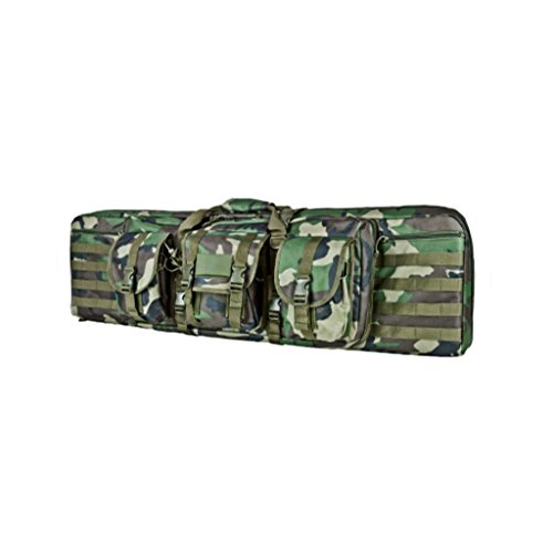 Double Carbine/Rifle/Shotgun Case By NcStar/Vism (Woodland Camo, 36) ()