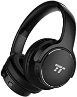 TaoTronics Active Noise Cancelling Headphones [Upgraded] 40H Playtime Bluetooth Headphones Wireless Headphones Over Ear...