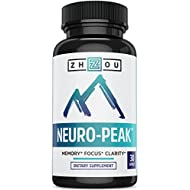 Natural Brain Function Support for Memory, Focus & Clarity...