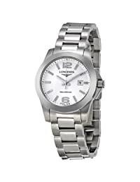 Longines Conquest Stainless Steel Ladies Watch L32774766