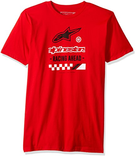 T-Shirt Alpinestars Ahead Rosso