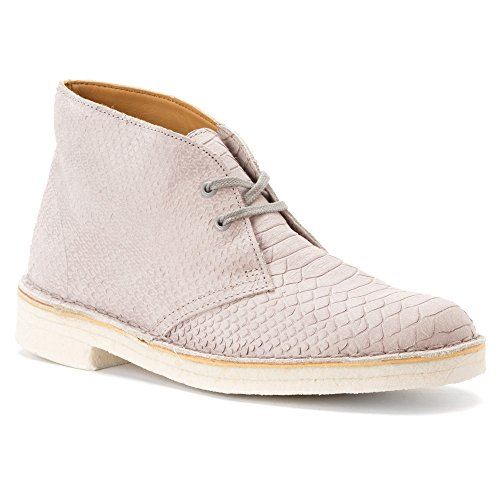 Grey Desert Clarks Leather Men's Snake Boot Originals rTIIWZqnE